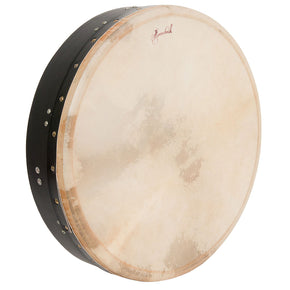 Roosebeck Tunable Mulberry Bodhran T-Bar 18-by-4-Inch - Black
