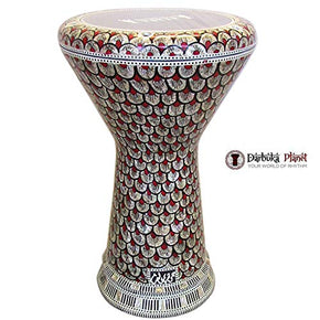 "The Red Shield NG 2.0 Sombaty Gawharet El Fan 18.5"" Darbuka - Blemish"