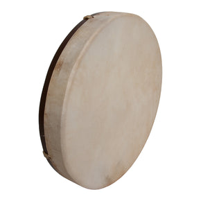 "DOBANI Pretuned Goatskin Head Wood Frame Drum w/ Beater 14""x2"""