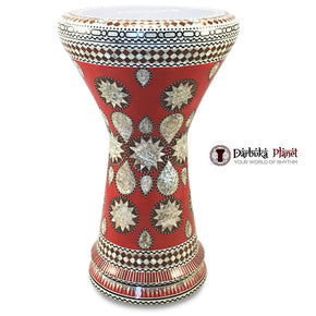 "The Red Lava NG 2.0 Sombaty Gawharet El Fan 18.5"" Darbuka"