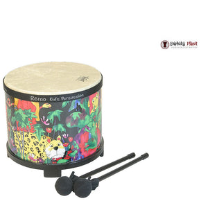 "10"" X 7.5"" Remo Kids Percussion Rain Forest Floor Tom"