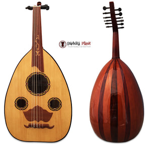 "El-Masry ""The Egyptian Stars "" Professional Egyptian Oud + Professional Case - Cat#M4"