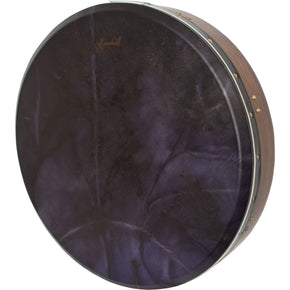 Roosebeck Tunable Sheesham Bodhran Cross-Bar 18-by-3.5-Inch, Eggplant Goat Skin
