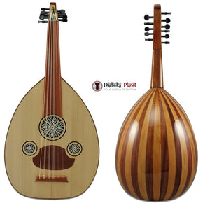 "Amazing!! Beginner Turkish Oud ""The Turkish Butterfly""+Soft Case - Cat#166C - Blemish"