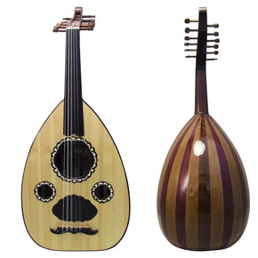 El-Masry Professional Egyptian Oud + Professional Case -ALM10