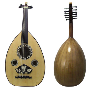 El-Masry Professional Egyptian Oud + Professional Case -ALM12