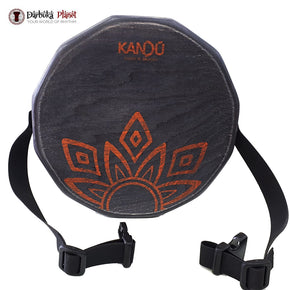 KTAK By Kandu -The First Portable Cajon ,Two-Sound Snare Hand Drum - (Black)