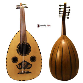 "El-Masry ""The Egyptian Sphinx"" Professional Egyptian Oud + Professional Case - Cat#M77 - Blemish"