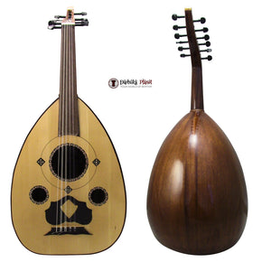 "El-Masry ""The Spider Eye"" Professional Egyptian Oud + Professional Case- Cat#Y1"