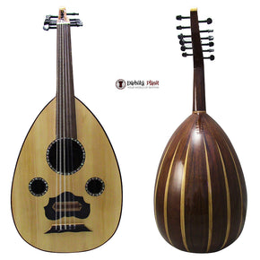 "El-Masry ""The Egyptian Crown"" Professional Egyptian Oud + Professional Case- Cat#Y2"