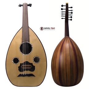 "El-Masry ""The Egyptian Spirit"" Professional Egyptian Oud + Professional Case- Cat#Y2B"