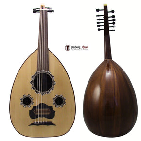 "El-Masry ""The Egyptian Sunset"" Professional Egyptian Oud + Professional Case- Cat#Y3"