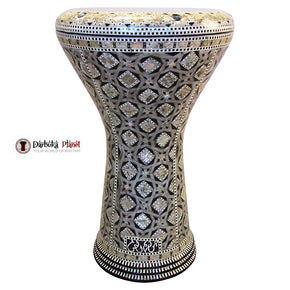 "The Stars Gate Gawharet El Fan 17"" Mother of Pearl Darbuka"