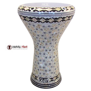 "The Magic Star Gawharet El Fan 17"" Mother of Pearl Darbuka"