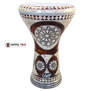 "The Scorpius Gawharet El Fan 17"" Mother of Pearl Darbuka"