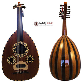"El-Masry ""The Egyptian Crown"" Professional Egyptian Oud + Professional Case - Cat#M44"