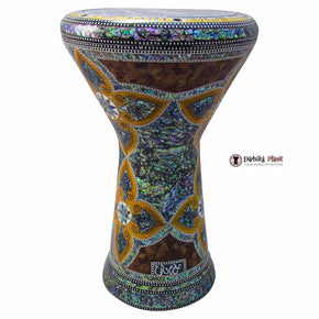 "The Andromeda NG 2.0 Sombaty Gawharet El Fan 18.5"" Darbuka With Real Green Mother of Pearl"