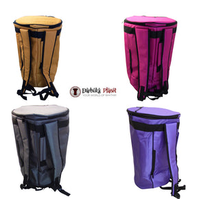 ZAZA - Professional Colorful Doumbek/Darbuka ClassicSize - Bag Carry Case - Premium Nylon Fabric Gig-bag
