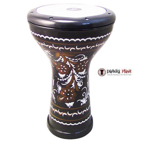 ZAZA Percussion The 17'' Empire Engraved Egyptian Style Darbuka Doumbek-3900-2