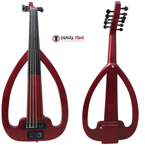 Amazing!!  Electric Silent Oud  Burgundy + Soft Case