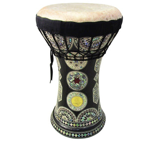 Gawharet El Fan - MOP Clay Darbuka Doumbek With Fish Skin Drum Head (F-103)