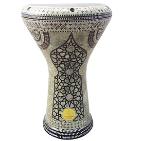 The 17'' Sultan Gawharet El Fan Darbuka Doumbek