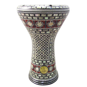 The 17'' Arabian King Gawharet El Fan Darbuka Doumbek