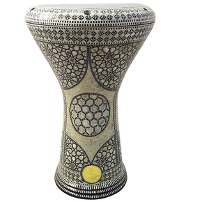 "The Alya Gawharet El Fan 17"" Mother of Pearl Darbuka"