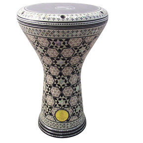 "The Mizar Gawharet El Fan 17"" Mother of Pearl Darbuka"
