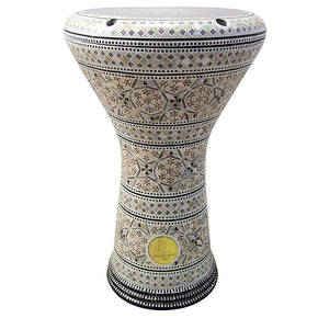 The 17'' Xerxes Gawharet El Fan Darbuka Doumbek