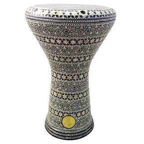 The 17'' Amasis Crown Gawharet El Fan Darbuka Doumbek