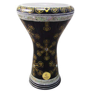 The 17'' Golden Anchor Gawharet El Fan Darbuka Doumbek