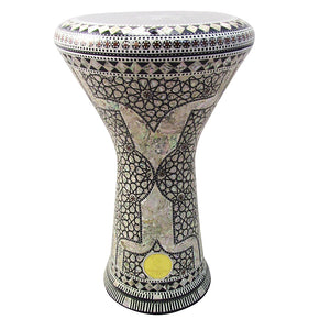 "The 17.5'' ""Abar"" New Generation 2.0 Gawharet El Fan Darbuka Doumbek"