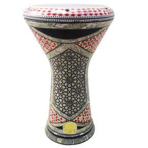 "The 17.5'' ""Red Princess"" New Generation 2.0 Gawharet El Fan Darbuka Doumbek"
