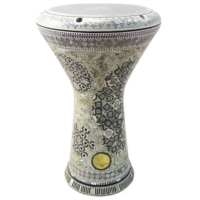 "The 17.5'' ""Hemaka"" New Generation 2.0 Gawharet El Fan Darbuka Doumbek"