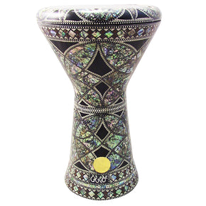 "The Siese NG 2.0 Sombaty Gawharet El Fan 18.5"" Darbuka With Real Green Mother of Pearl"