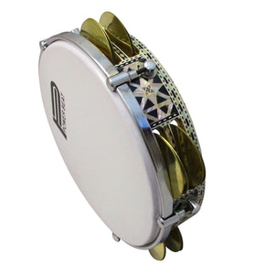 Pro Riq Tambourine Mosaic With Advance Tuning  Lugs GAWHARET EL FAN Drum With A #RE-500S