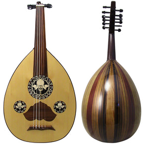 Gawharet El Fan Beginners  Egyptian Oud Model2  - L2#7- ROSE