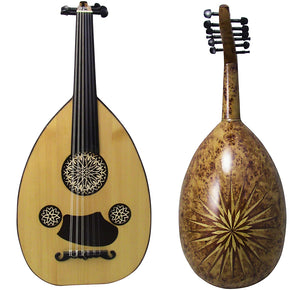 Gawharet El Fan Professional Egyptian Super Oud Model3 + Extra Set Of Strings  - OUDL3L-1