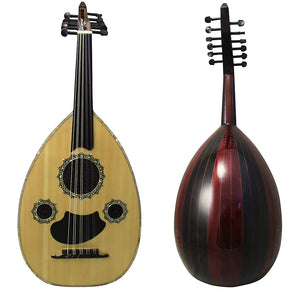 Gawharet El Fan Professional Egyptian Oud Model3+Extra Set Of Strings  -L3#13