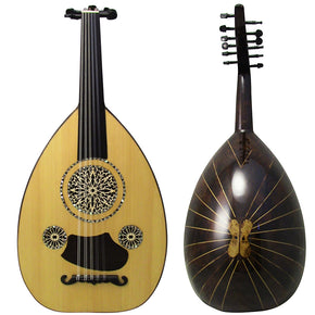Gawharet El Fan Professional Egyptian Super Oud Model3 + Extra Set Of Strings  - OUDL3L-2