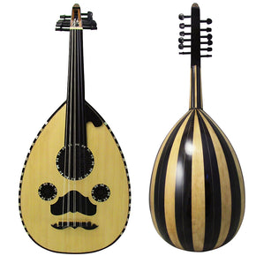 Gawharet El Fan Professional Egyptian Oud Model3+Extra Set Of Strings - 3#16