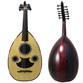 Gawharet El Fan Professional Egyptian Oud Model3+Extra Set Of Strings - 3#17