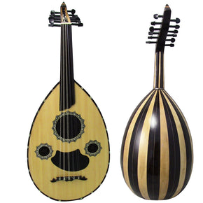 Gawharet El Fan Professional Egyptian Oud Model3+Extra Set Of Strings - L3#18