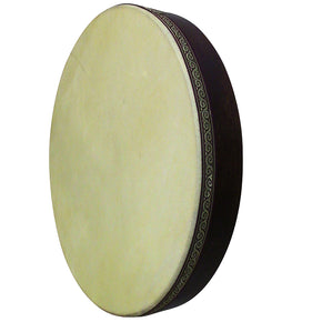 The 16'' Zaza Percussion Turkish Professional Wood Bandir/Bendir With Goat Skin