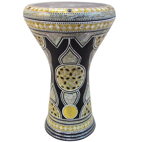 "The Sultan Gawharet El Fan 17"" Mother of Pearl Darbuka"