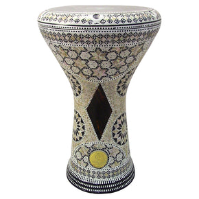 "The Kalliope Gawharet El Fan 17"" Mother of Pearl Darbuka"