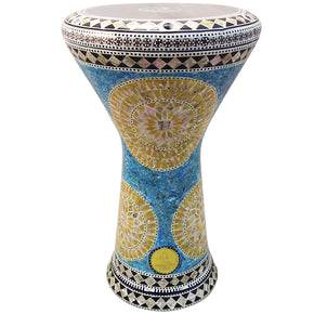 The 17.5'' Golden Sun New Generation 2.0 Gawharet El Fan Darbuka Doumbek