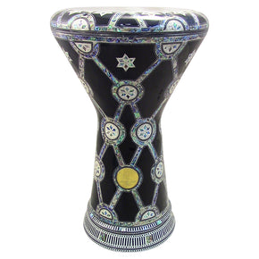 "The Aida NG 2.0 Sombaty Gawharet El Fan 18.5"" Darbuka With Real Blue Mother of Pearl"