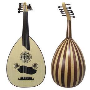 Amazing! Professional Turkish Oud - Maple / Mahogany +Soft Case - Cat#OUD 1-SU